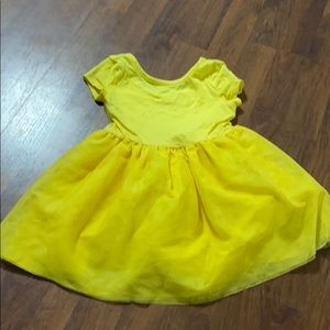 2T Yellow Old Navy Dress with Tutu Bottom